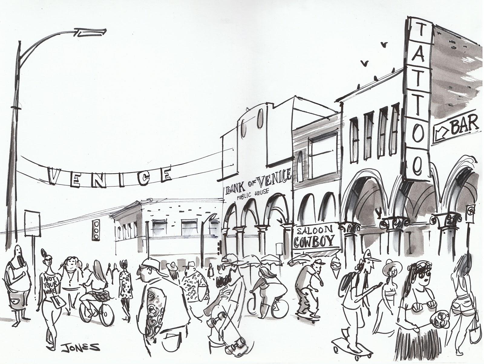 1600x1204 Matt Jones Venice Beach Sketchbook