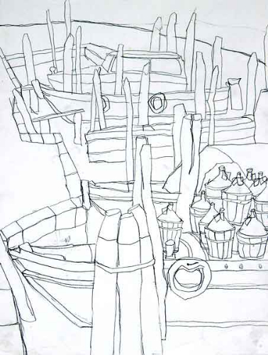 378x500 Venedig Drawings From An Excursion To Venice Italy Work