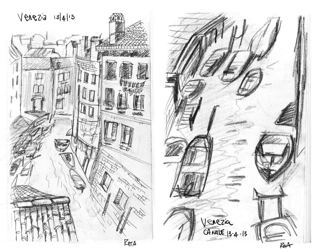 1024x818 Venice Sketch By Kelay