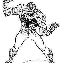 Venom Spiderman Drawing at GetDrawings   Free download