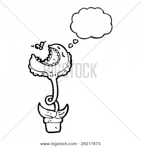 450x470 Funny Venus Fly Trap Cartoon Vector Amp Photo Bigstock