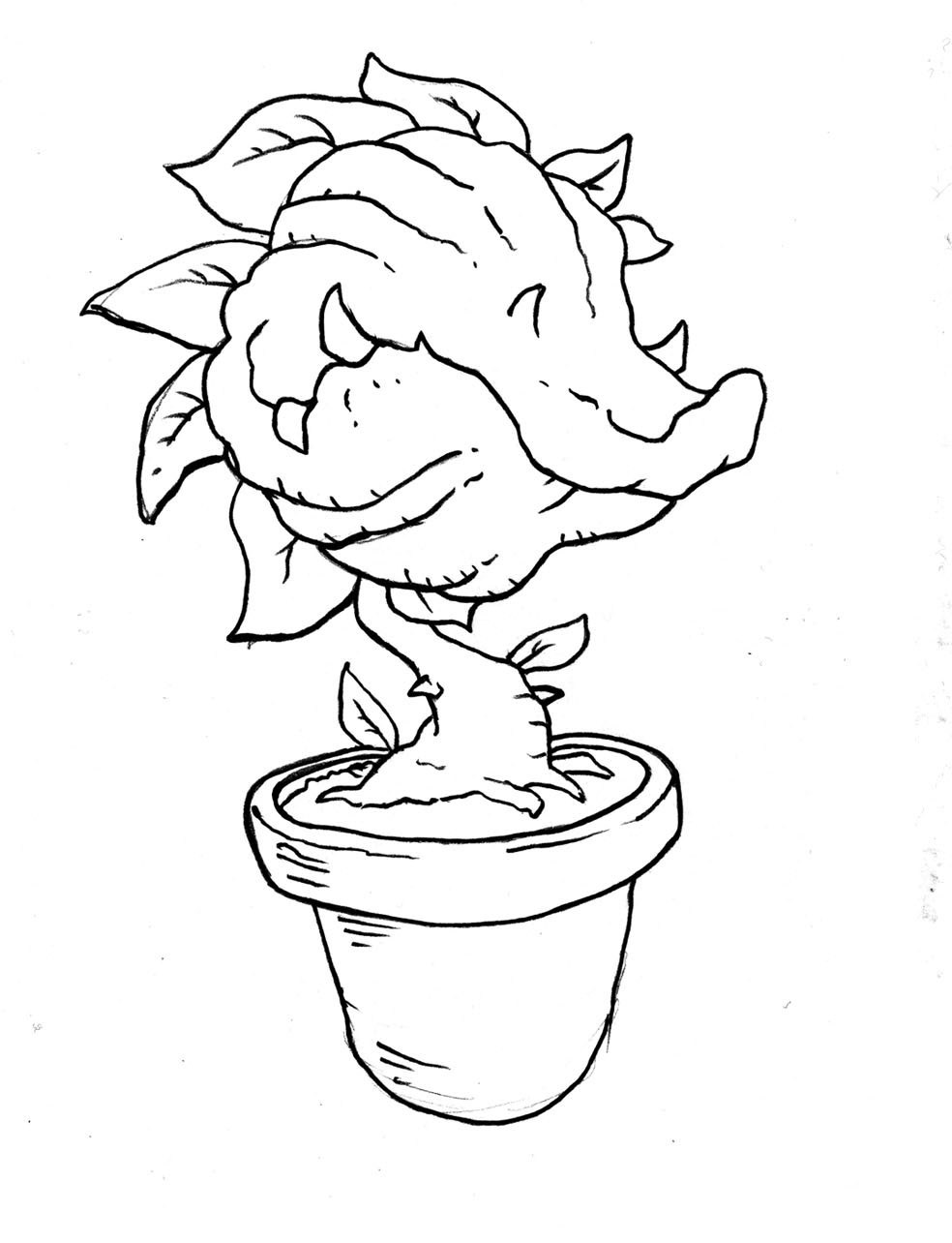 984x1284 Venus Fly Trap Coloring Sheet Coloring Page For Kids