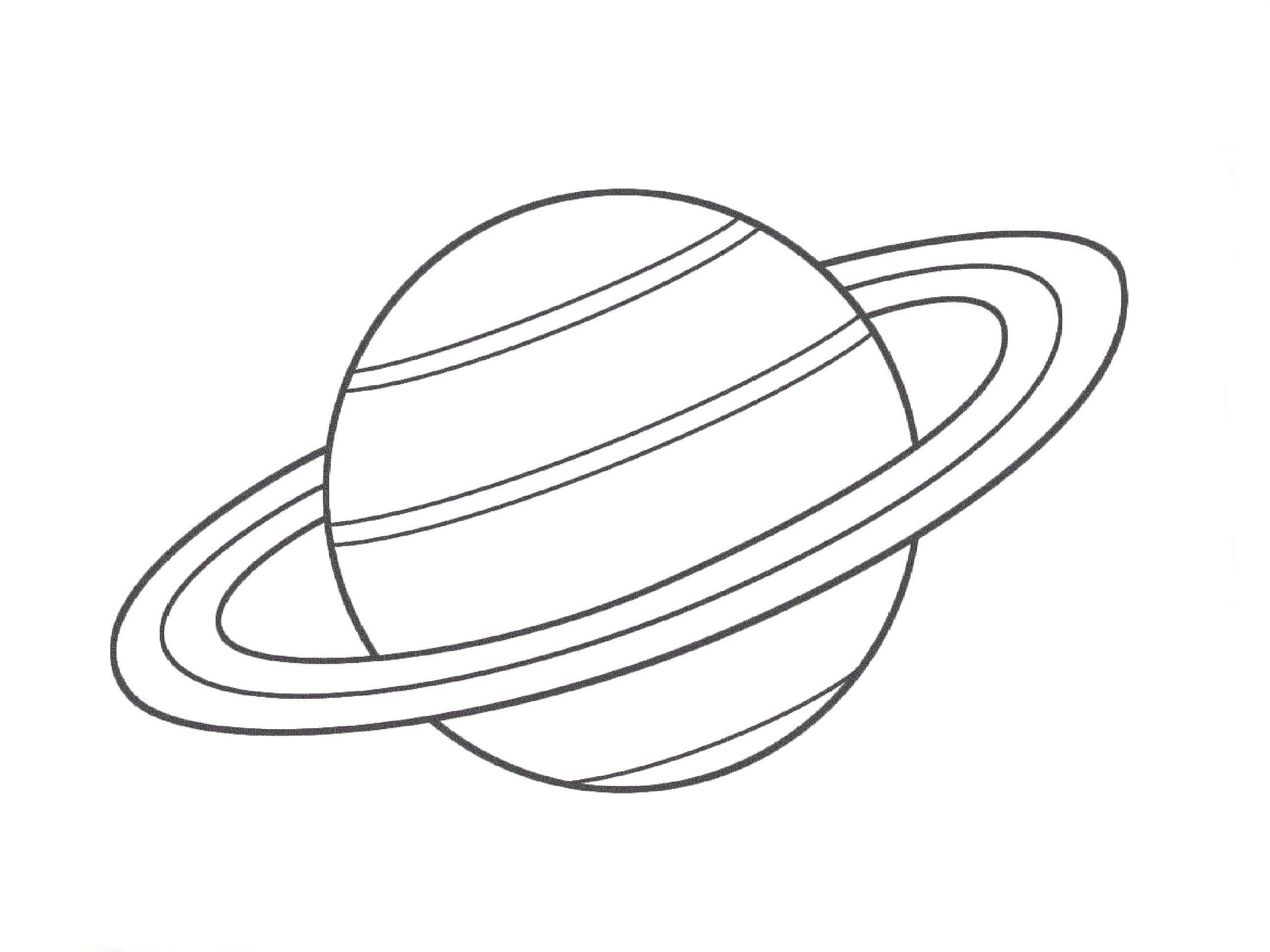 how to draw the planet venus step by step