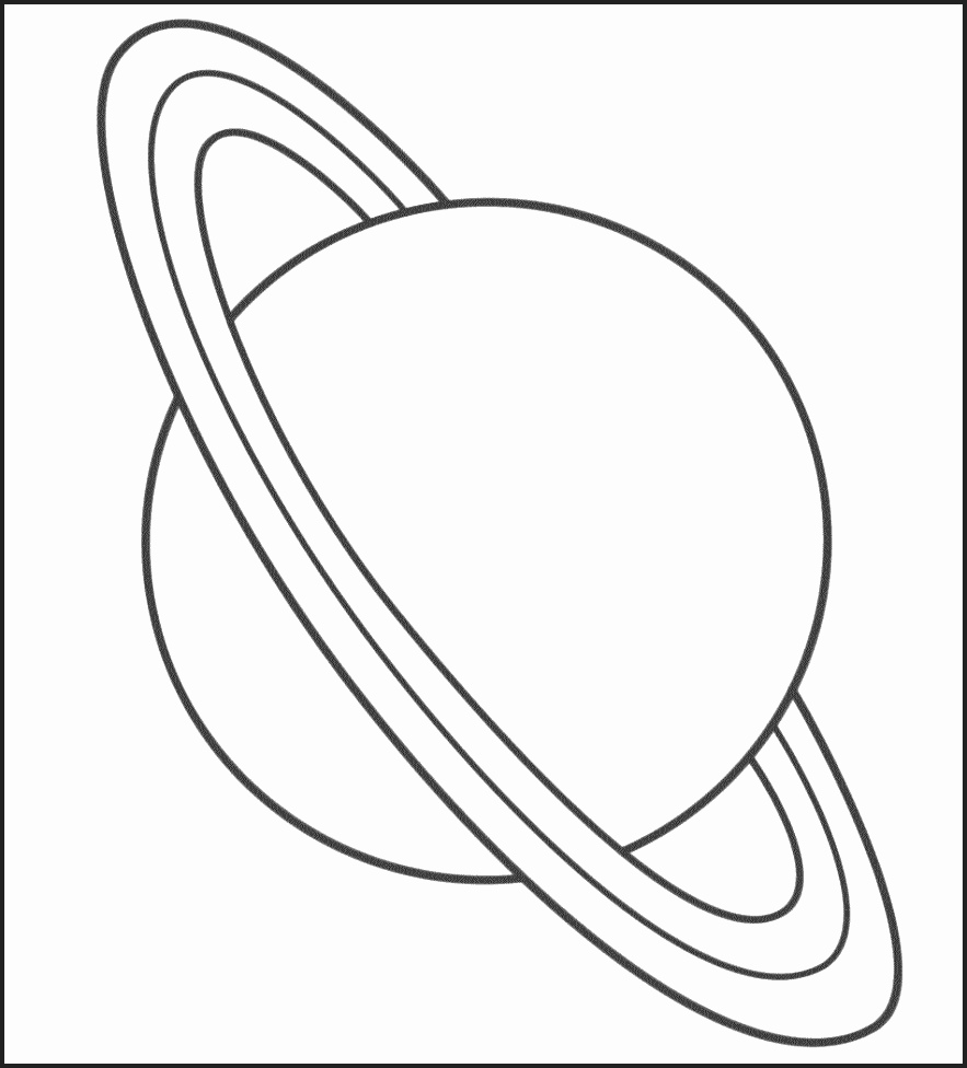 Venus Planet Drawing