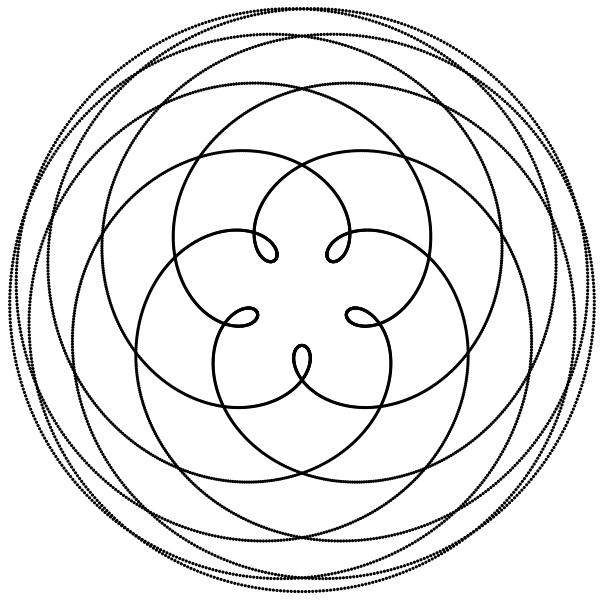 604x600 The Pentagram Of Venus Azimuth