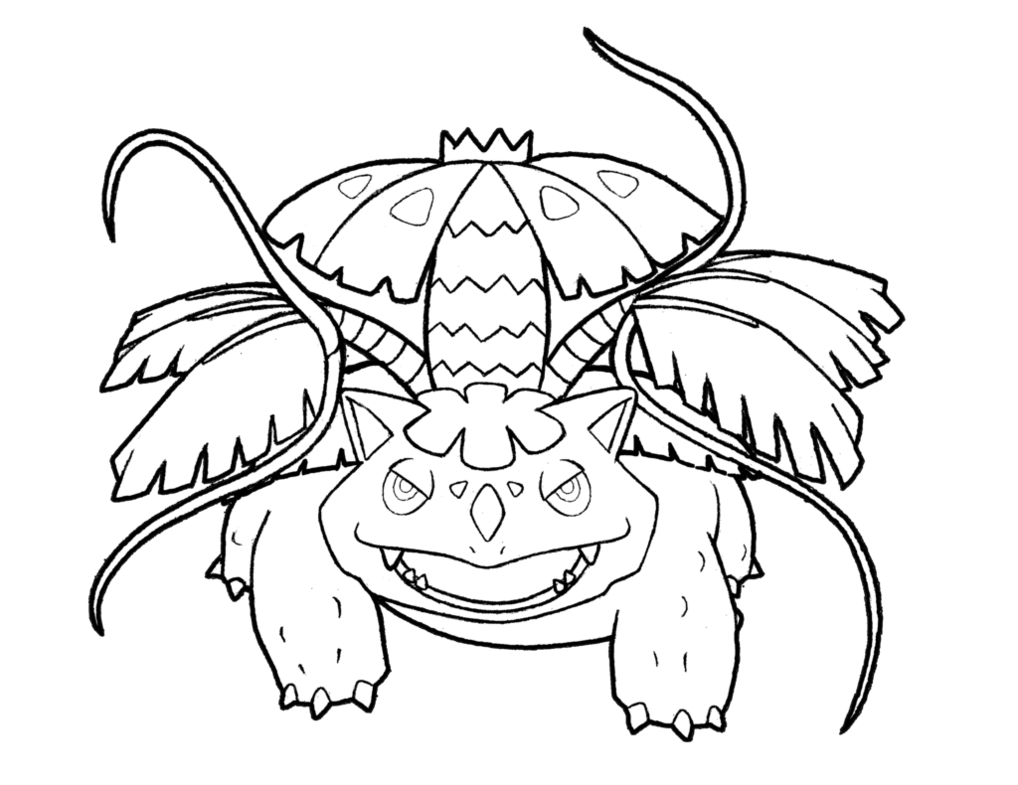 Venusaur Drawing