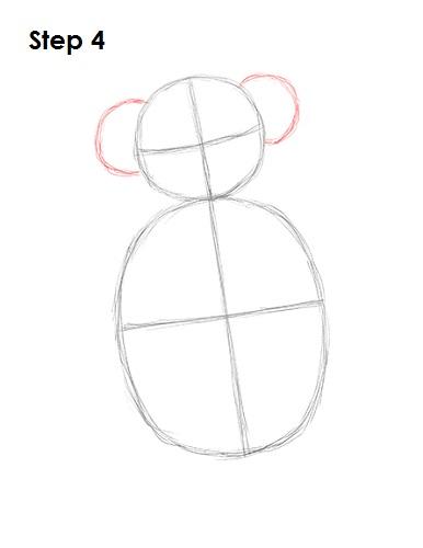 386x500 How To Draw A Koala