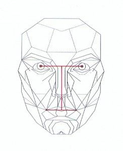 244x300 Pupil Lip Lines Vertical Axis Draw Faces Draw