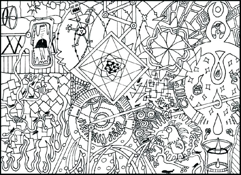 800x581 Hard Coloring Pages Free Very Detailed Coloring Pages Super Hard