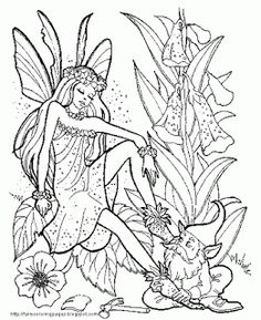 236x289 Detailed Coloring Pages For Adults Here Is A Very Detailed Fairy
