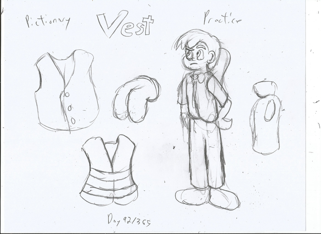 Vest Drawing