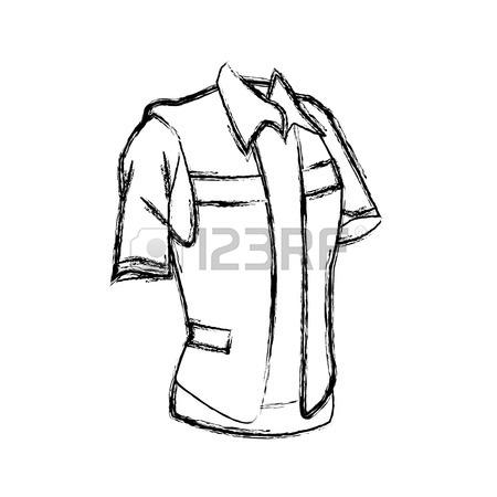 450x450 Construction Worker Vest Icon Vector Illustration Graphic Design