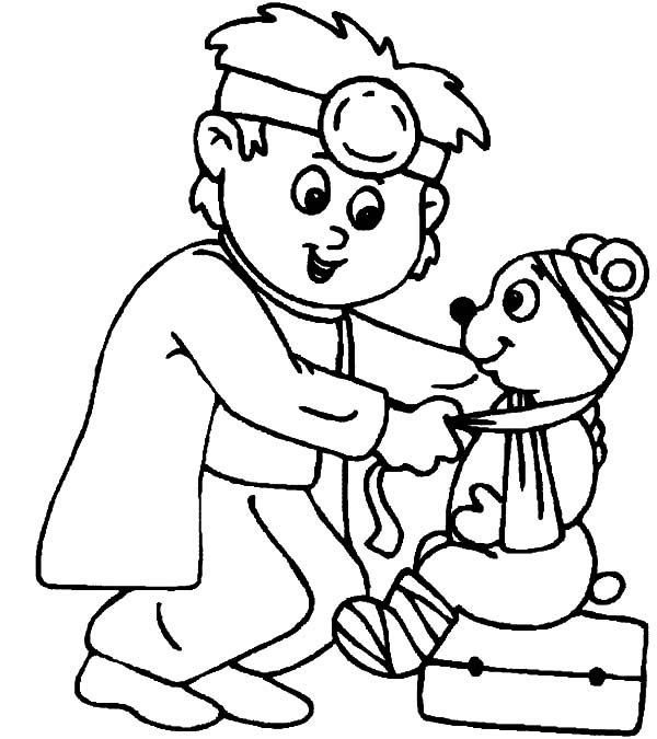 600x675 Veterinary Coloring Pages For Kids