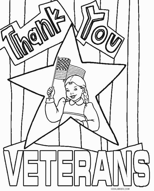 646x800 Free Printable Veterans Day Coloring Pages For Kids Cool2bkids