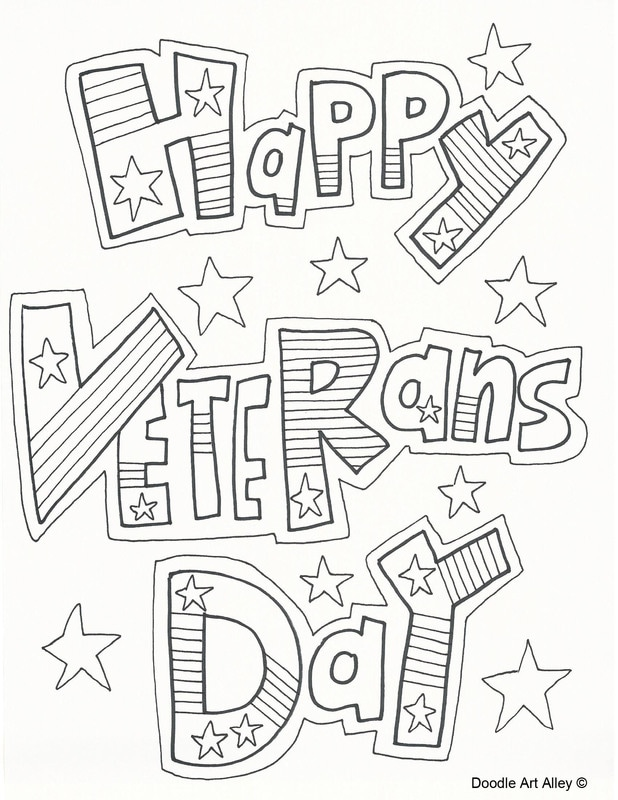 618x800 Veterans Day Coloring Pages