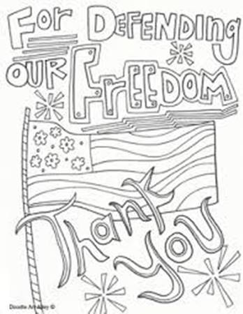 348x450 Veterans Day Coloring Pages