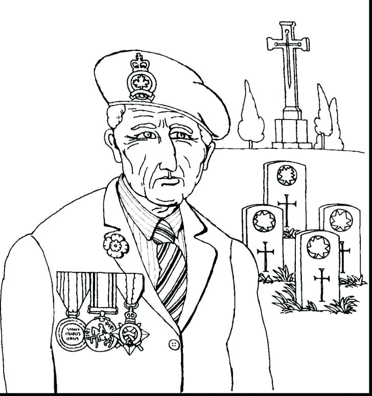 728x775 Remembrance Day Coloring Pictures Veterans Coloring Pages