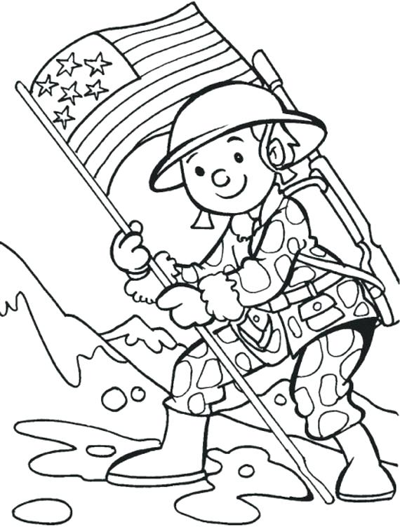 570x755 Veterans Day Printable Coloring Pages Free Printable Veterans Day