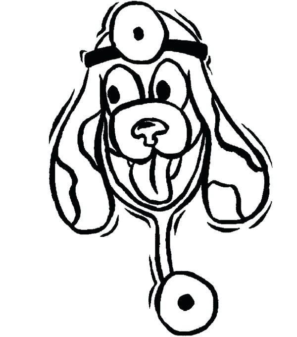 600x680 Veterinarian Coloring Pages Blog Post Free Veterinary Coloring