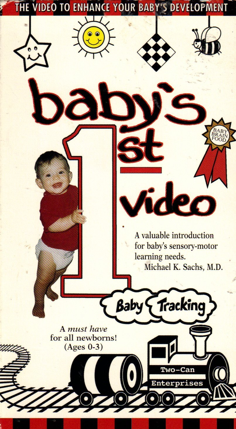 806x1464 Baby's First Video [Vhs] Baby's First Video Movies Amp Tv