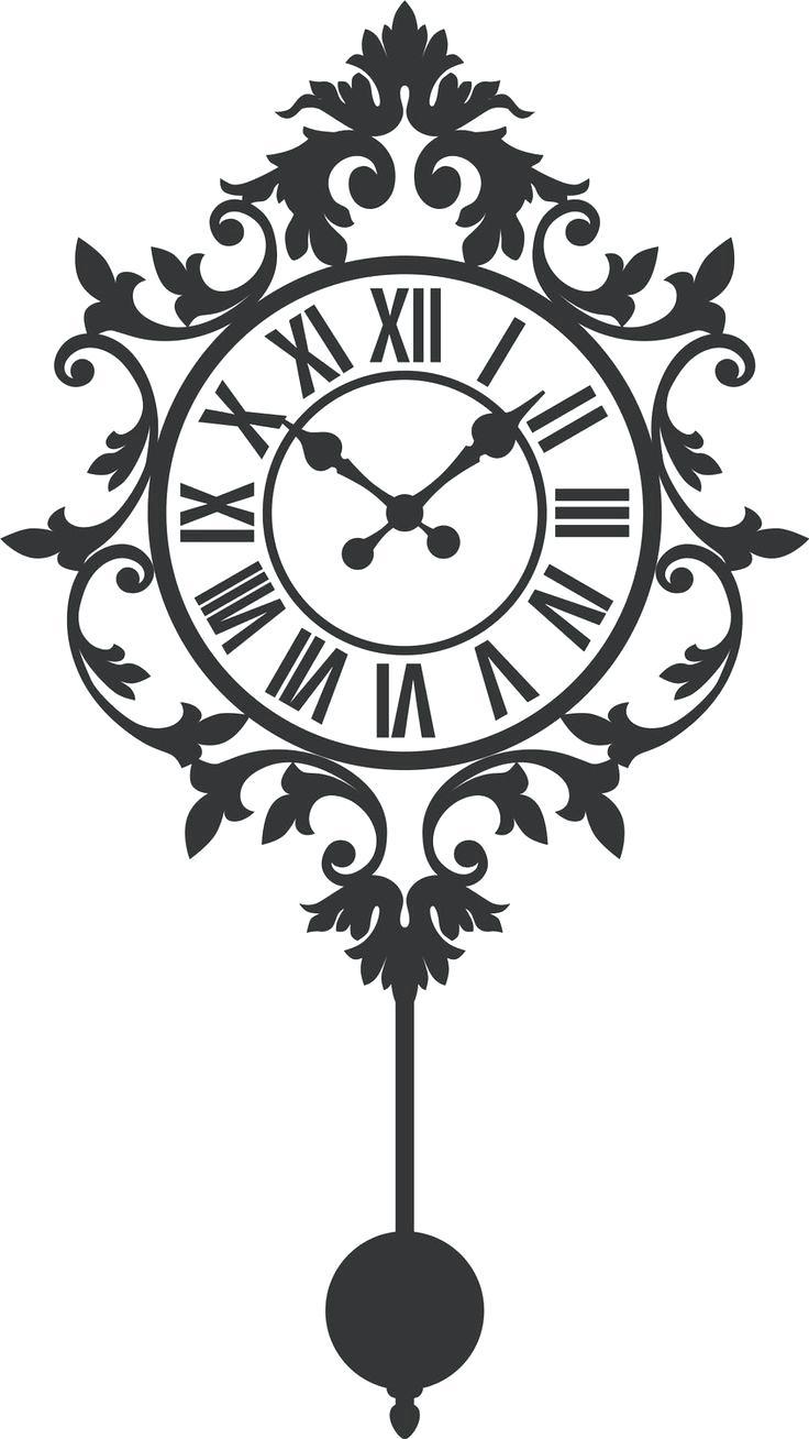 736x1308 Wall Clocks Clock Drawing Wall Stock Images Royaltyfree Images