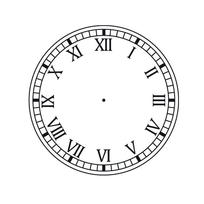 650x650 Roman Numeral Clocks Venicepines.co