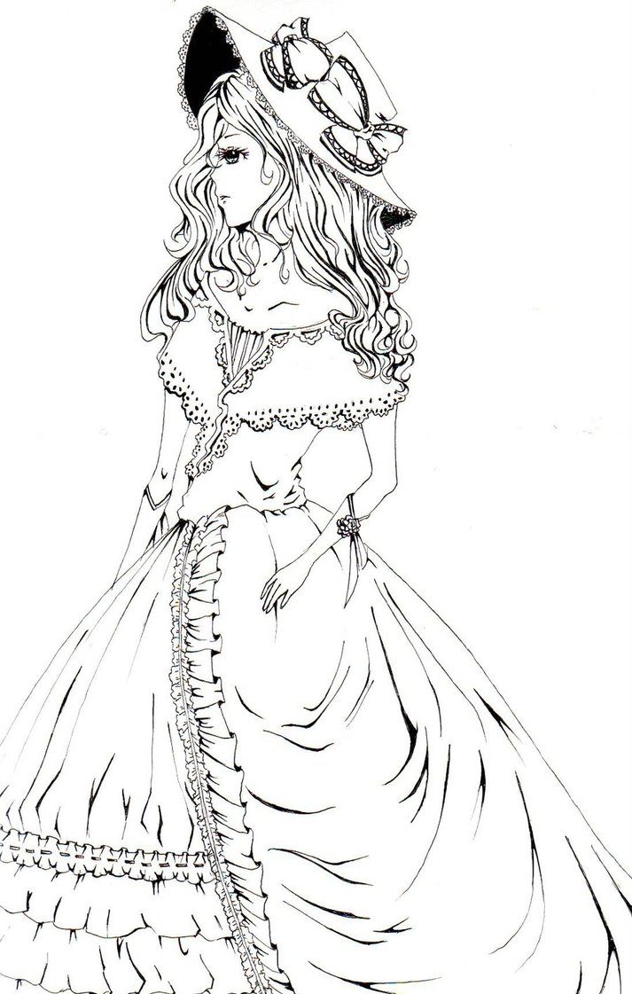 713x1121 Victorian Girl By Things That Dream