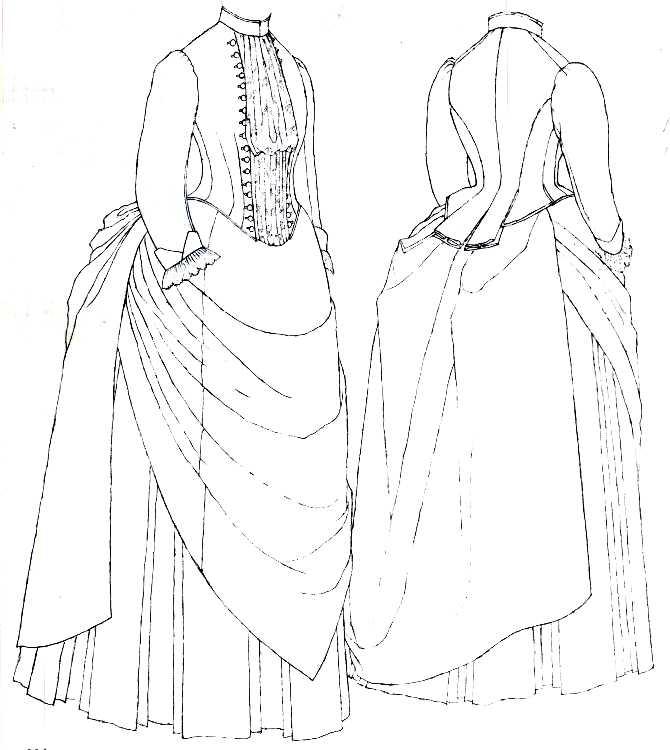 670x750 Victorian Dress Pattern {Victorian Influence}