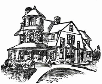 339x279 Queen Anne Victorian House Plans Luxury Queen Anne House Plans