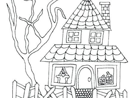 440x330 Coloring Pages Of Houses Coloring Pages Victorian Houses