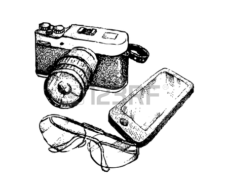 Video Camera Drawing