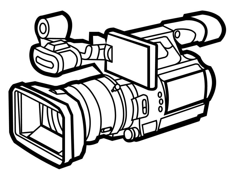 video camera drawing at getdrawings com free for personal use rh getdrawings com clipart pictures of video cameras clipart caméra vidéo