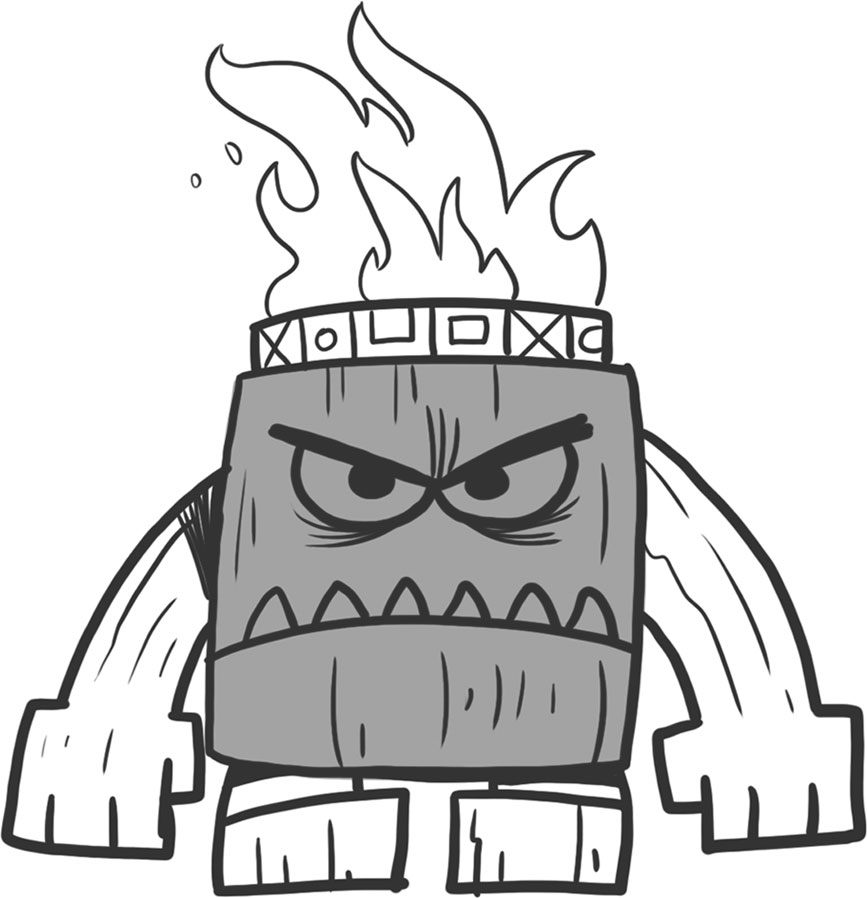 867x898 How To Draw Video Game Villains Minions And Boss Characters