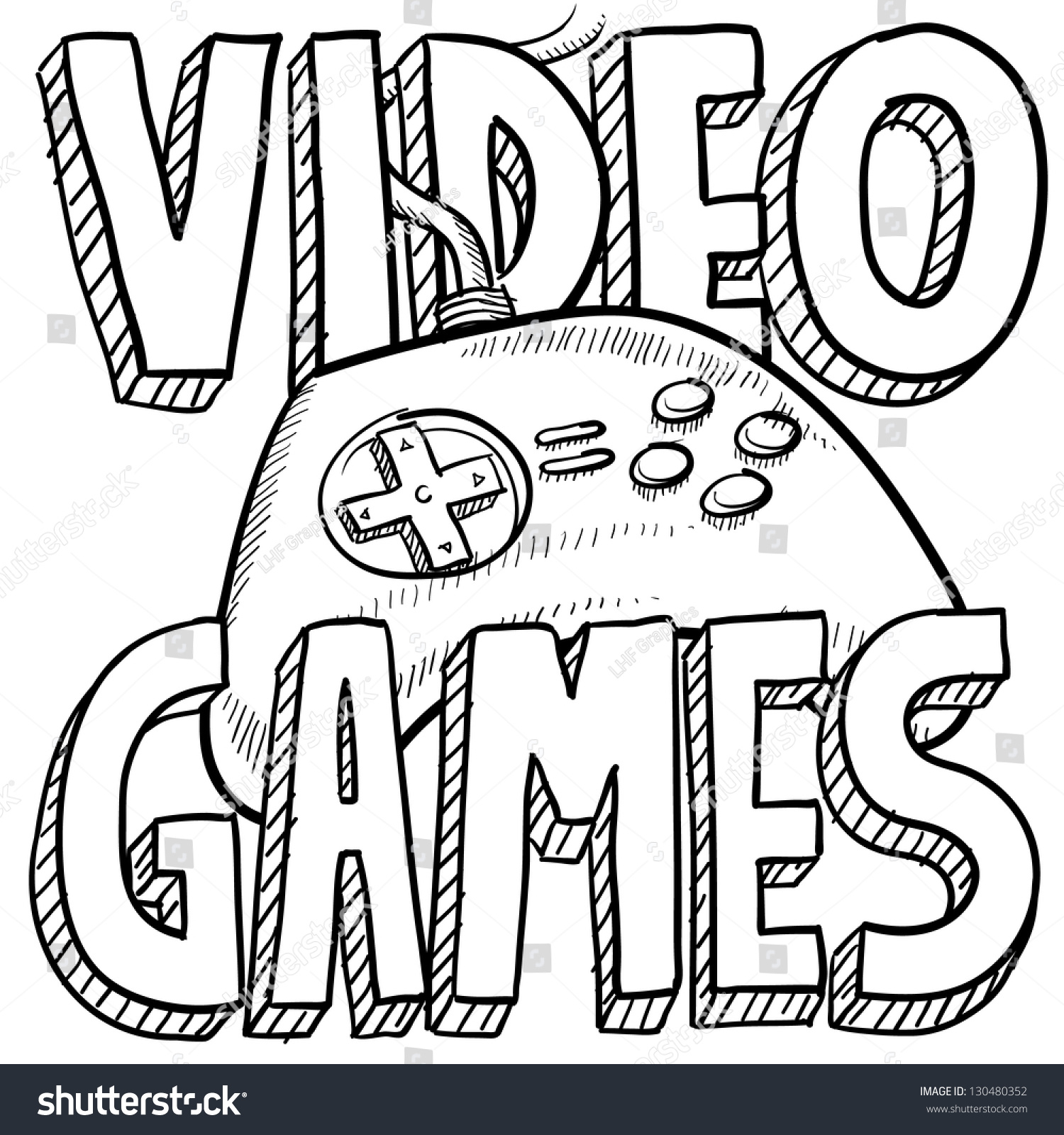 1500x1600 Doodle Drawing Games Doodle Style Video Games Sports Illustration