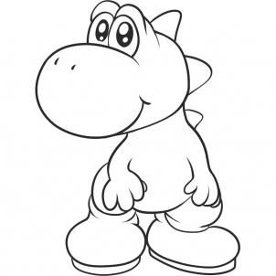 302x302 How To Draw Yoshi, Step By Step, Video Game Characters, Pop