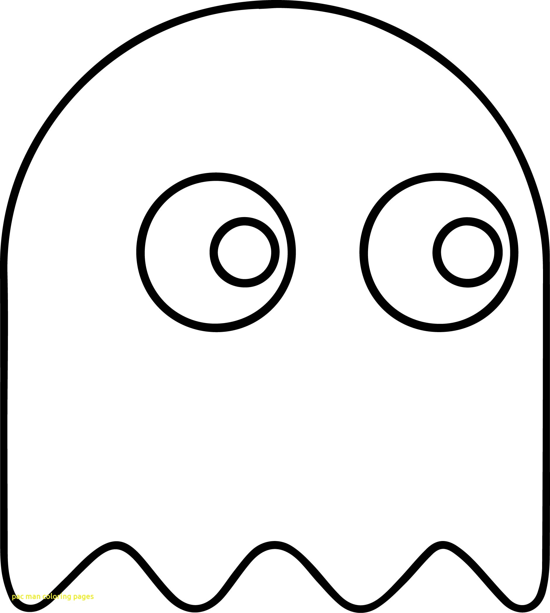1880x2095 Pac Man Coloring Pages With Pac Man Ghost Video Game Characters