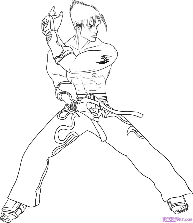 1249x1440 Tekken Jin Coloring Pages Aa Jin Kazama