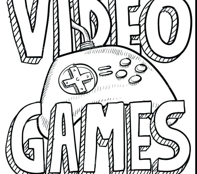 Video Game Drawing at GetDrawings.com | Free for personal use Video ...