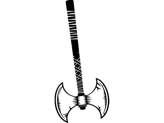 570x429 Viking Axe Shield Scandinavian History Warrior Nordic Battle War