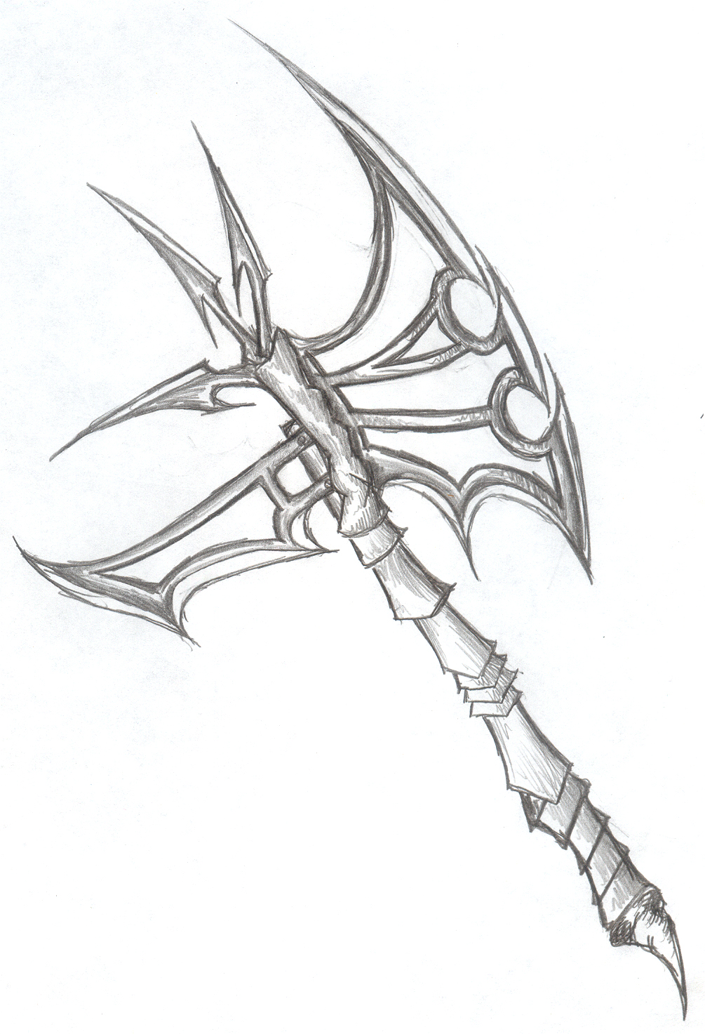 1005x1473 Axe By Valgrisk