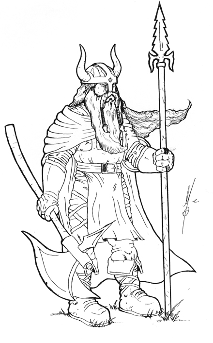 Viking Drawing at GetDrawings.com | Free for personal use Viking ...