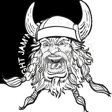 361x361 Viking Face Yelling Carving Plans Vikings, Color