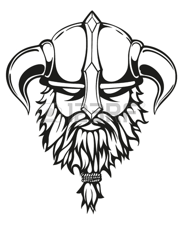 Viking Hat Drawing