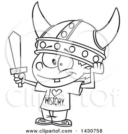 450x470 Royalty Free (Rf) Viking Helmet Clipart, Illustrations, Vector