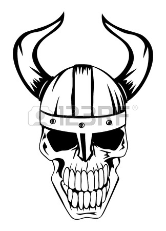 324x450 The Image A Skull In An Ancient Helmet Of Vikings Royalty Free