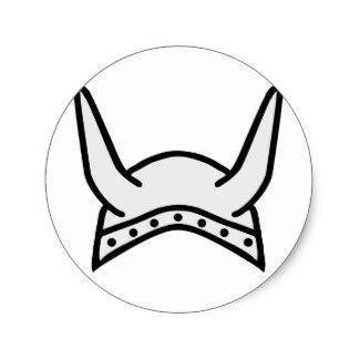 324x324 Viking Helmet Stickers Zazzle