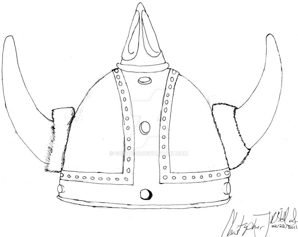 1002x797 Viking Helmet By Gothic06