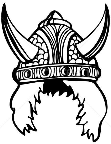 462x600 Viking Helmet Vector Illustration John Takai (Cteconsulting