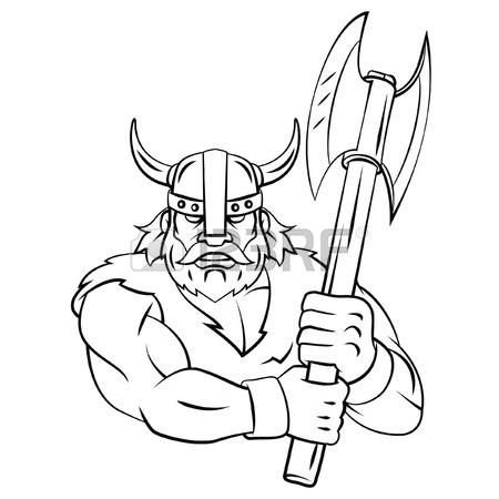Viking Helmet Drawing