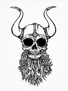 236x314 Viking Skull Tattoo Designs And Images Ideas